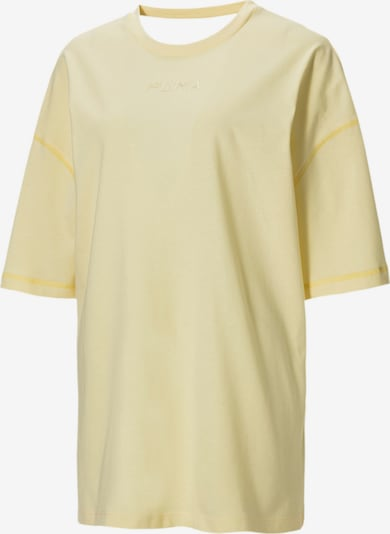 PUMA T-Shirt in hellgelb, Produktansicht