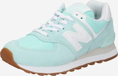 Sneaker low new balance pe verde mentă / alb, Vizualizare produs