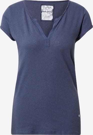 MOS MOSH T-shirt 'Troy' en bleu, Vue avec produit