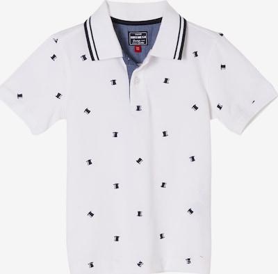 s.Oliver Poloshirt in blau / weiß, Produktansicht