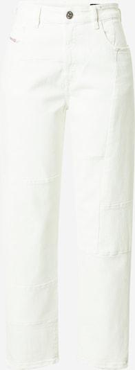 DIESEL Jean 'D-REGGY' en blanc denim, Vue avec produit