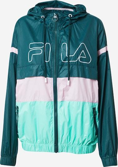 Sportinė striukė 'Lazare' iš FILA , spalva - mėtų spalva / tamsiai žalia / rožinė, Prekių apžvalga