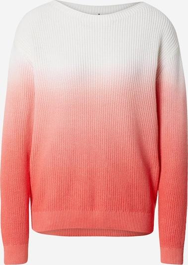 TOM TAILOR Pullover in hellpink / weiß, Produktansicht