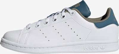 ADIDAS ORIGINALS Sneaker 'Stan Smith' in khaki / violettblau / weiß, Produktansicht