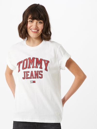 Marškinėliai iš Tommy Jeans , spalva - kobalto mėlyna / raudona / balta, Modelio vaizdas