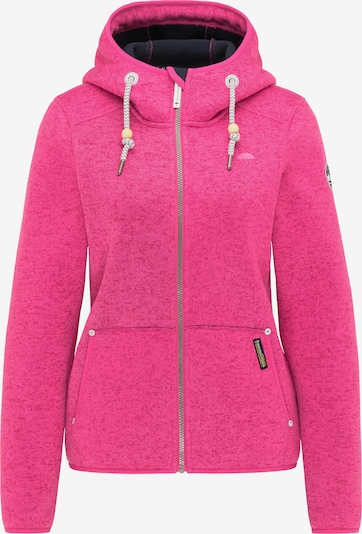 Schmuddelwedda Fleecejacke in pink, Produktansicht