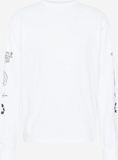Dr. Denim T-shirt i mörkgrå / vit, Produktvy