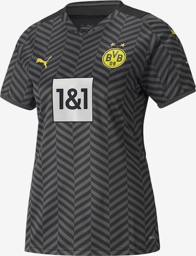 PUMA Tricot 'Borussia Dortmund' in de kleur Geel / Grijs / Lichtgrijs / Zwart, Productweergave