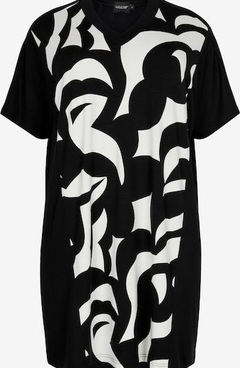GOZZIP Tunika 'Ellen' in schwarz / weiß, Produktansicht