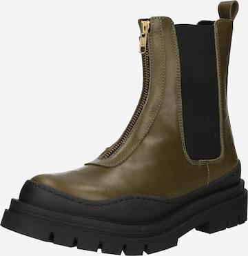Ca'Shott Chelsea Boots i grønn
