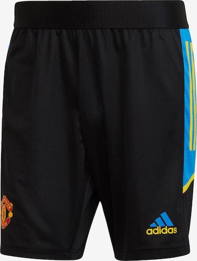 ADIDAS PERFORMANCE ' Manchester United Condivo Training Shorts ' in schwarz, Produktansicht