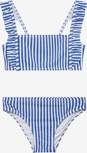MANGO KIDS Bikini 'Nautico' in navy / weiß, Produktansicht