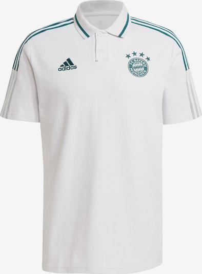 ADIDAS PERFORMANCE Trikot 'FC Bayern München' in petrol / weiß, Produktansicht