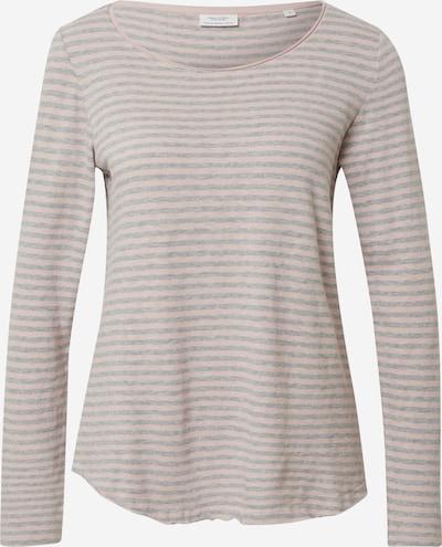 Marškinėliai 'SLUB' iš Marc O'Polo DENIM , spalva - margai pilka / šviesiai rožinė, Prekių apžvalga