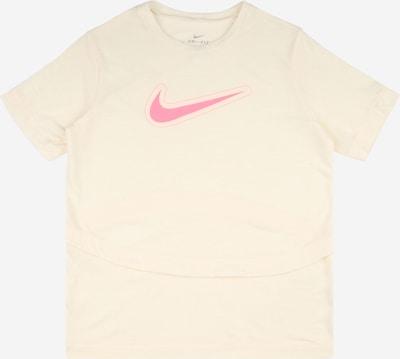 NIKE Sportshirt 'Trophy' in beige / hellpink, Produktansicht