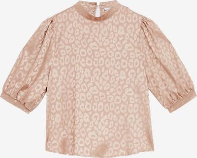 Zibi London Bluse in beige / braun, Produktansicht