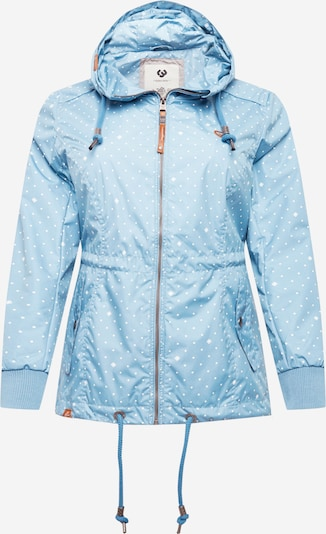 Ragwear Plus Jacke 'DANKA' in blau, Produktansicht