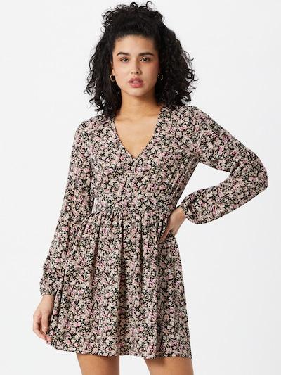 Missguided Sukienka w kolorze beżowy / różowy pudrowy / czarny / białym: Widok z przodu