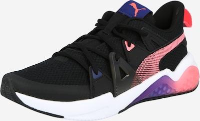 PUMA Chaussure de sport en bleu / rose clair / noir / blanc, Vue avec produit