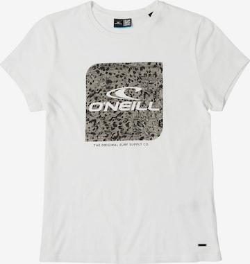 O'NEILL T-Shirt 'Cube' in Weiß
