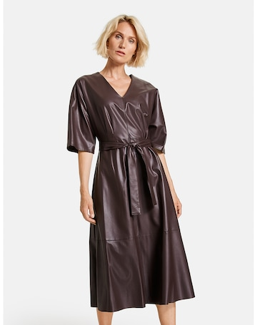 GERRY WEBER Dress in Brown