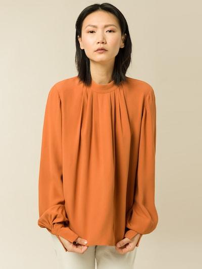 IVY & OAK Bluse in dunkelgelb, Modelansicht