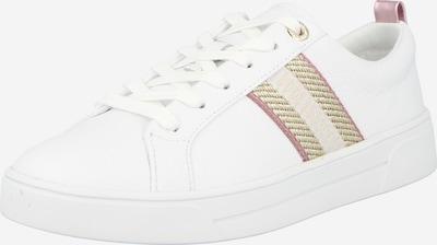Sneaker low 'Baily' Ted Baker pe alb kitt / auriu / rosé / alb, Vizualizare produs