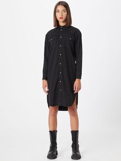 ONLY Bluse in black denim, Modelansicht
