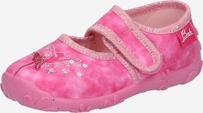 BECK Балерини в розово / антично розово / карминено червено / сребърно, Преглед на продукта