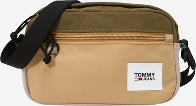 Tommy Jeans Pleca soma gaiši brūns / olīvzaļš, Preces skats