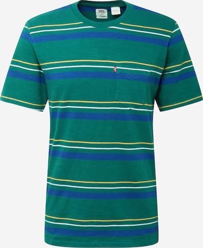 LEVI'S Shirt 'Sunset' in de kleur Blauw / Geel / Donkergroen / Wit, Productweergave