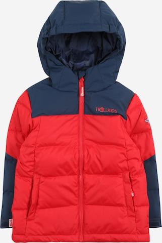 TROLLKIDS Vabaajajope 'Narvik', värv punane