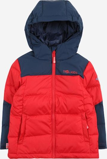 TROLLKIDS Zimska jakna 'Narvik' | modra / rdeča barva, Prikaz izdelka