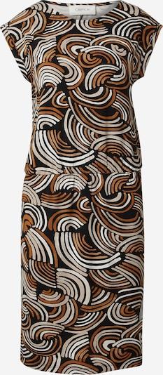 Cartoon Kleid in braun / schwarz / weiß, Produktansicht