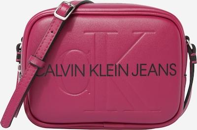 Calvin Klein Jeans Bolso de hombro en rojo oscuro / negro, Vista del producto