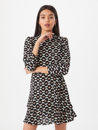 Dorothy Perkins Kleid in pink / schwarz / weiß, Modelansicht