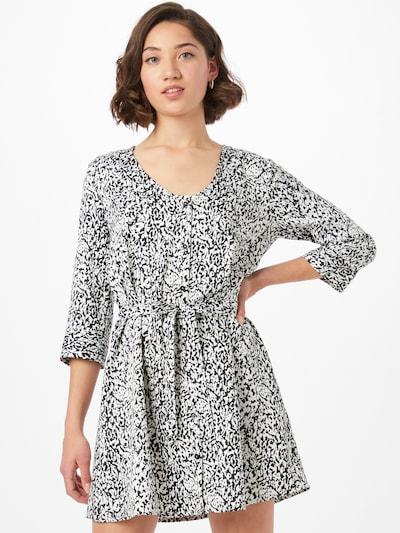 JDY Shirt dress 'ALISA' in Black / White, View model