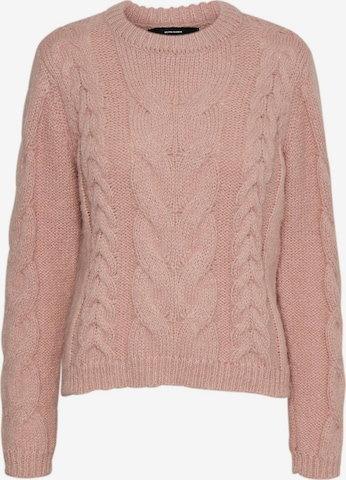 VERO MODA Sweater 'Wine' in Pink