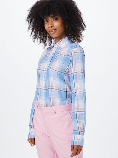 POLO RALPH LAUREN Bluse 'GEORGIA' in blau, Modelansicht