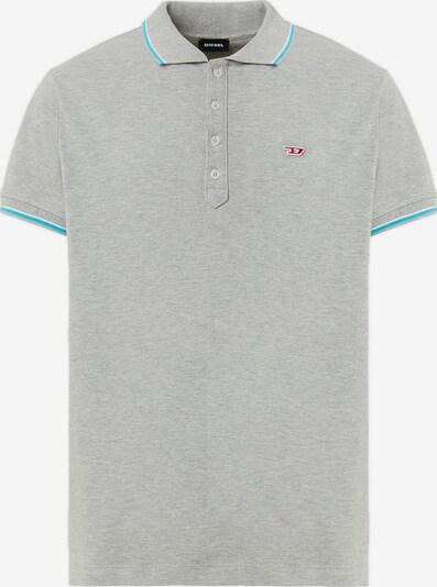 DIESEL Poloshirt in grau, Produktansicht
