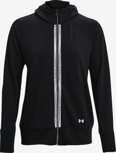 UNDER ARMOUR Functionele fleece jas ' Project Rock ' in de kleur Zwart, Productweergave