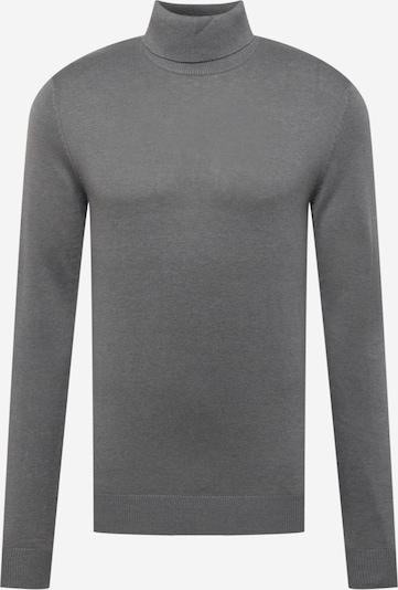 JACK & JONES Pullover 'EMIL' in grau, Produktansicht