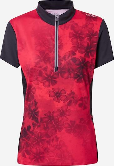 Tricou funcțional CMP pe marine / roşu închis, Vizualizare produs