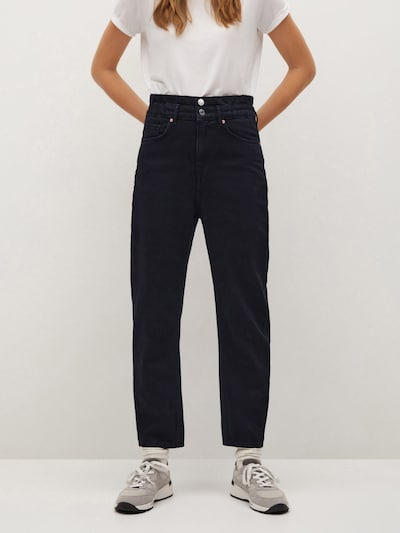MANGO Jeans 'Mia' in de kleur Zwart, Modelweergave