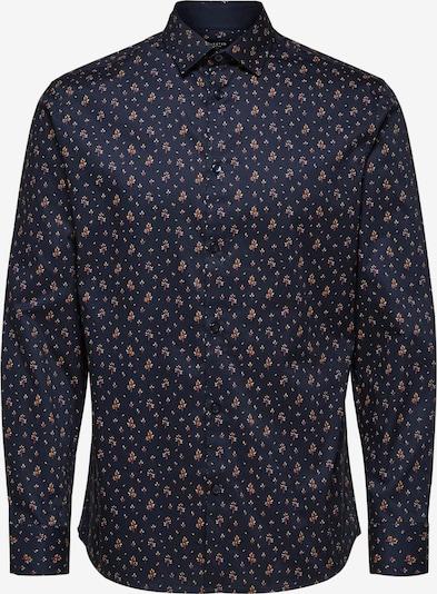 SELECTED HOMME Hemd in dunkelblau / gelb / rot / weiß, Produktansicht