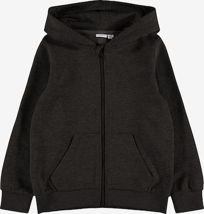 NAME IT Sweatjacke 'Leno' in schwarz, Produktansicht