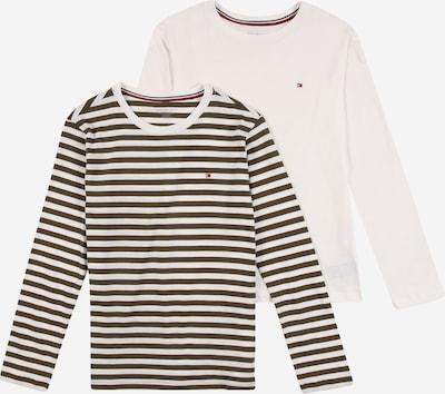 Tommy Hilfiger Underwear Majica | kaki / bela barva, Prikaz izdelka