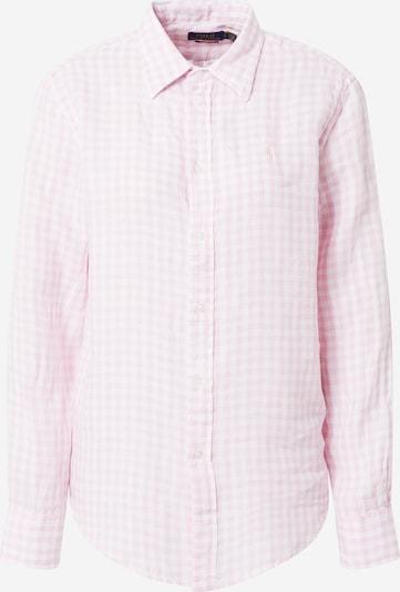 világos-rózsaszín / fehér POLO RALPH LAUREN Blúz, Termék nézet