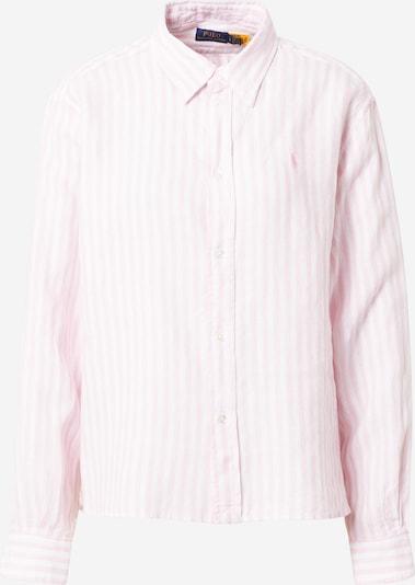 POLO RALPH LAUREN Chemisier en rose clair / blanc, Vue avec produit