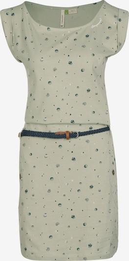 Ragwear Kleid in petrol / hellgrün, Produktansicht